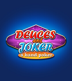 Deuces and Joker 4-Hand Poker