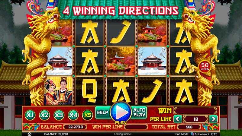 Изображение игрового автомата 4 Winning Directions 1