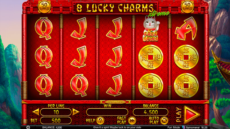 Изображение игрового автомата 8 Lucky Charms Xtreme 2