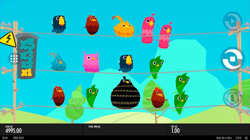 Изображение игрового автомата Birds On A Wire 1