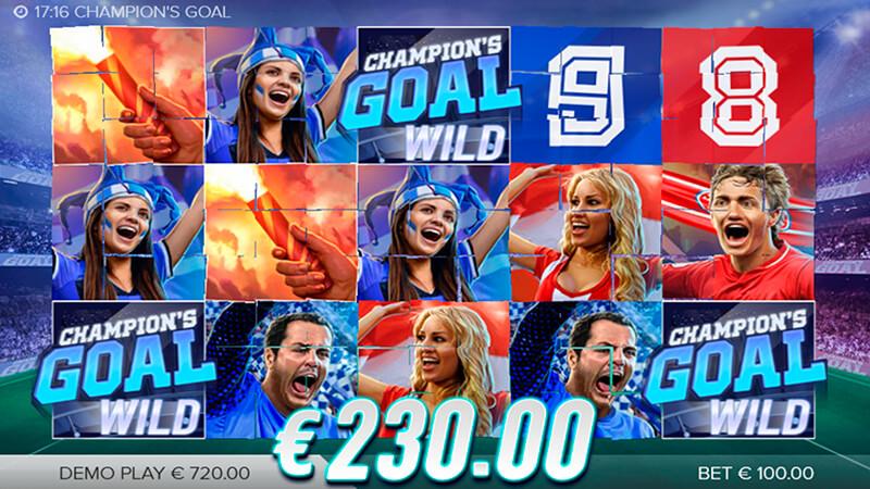 Изображение игрового автомата Champions Goal 2