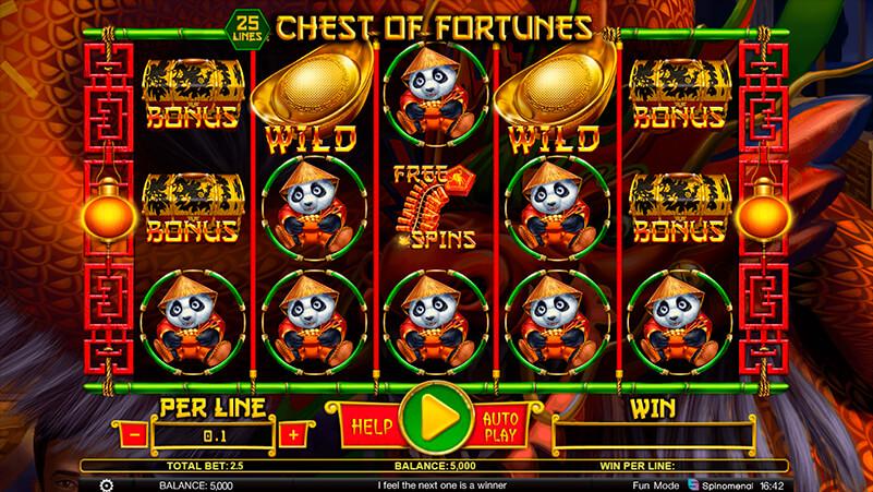Изображение игрового автомата Chest Of Fortunes 1