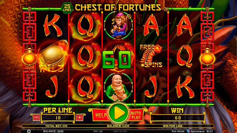 Изображение игрового автомата Chest Of Fortunes 2