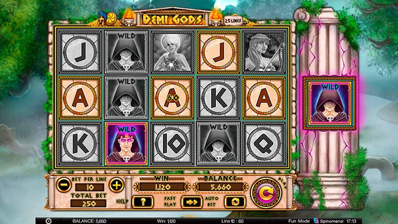 Изображение игрового автомата Demi Gods 2
