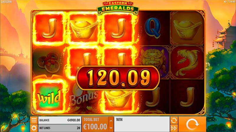 Изображение игрового автомата Eastern Emeralds 2
