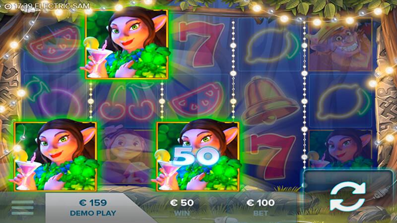 Изображение игрового автомата Electric Sam 3