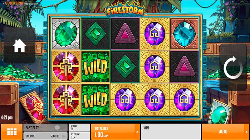 Изображение игрового автомата Firestorm 2
