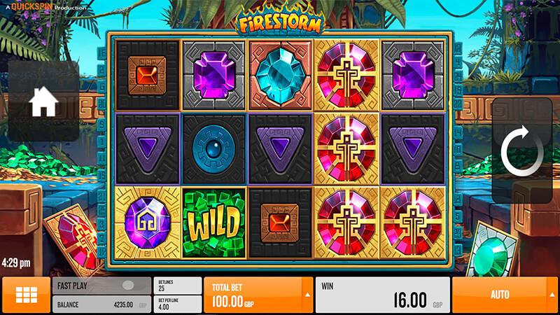 Изображение игрового автомата Firestorm 1