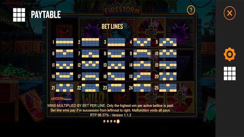 Изображение игрового автомата Firestorm 3