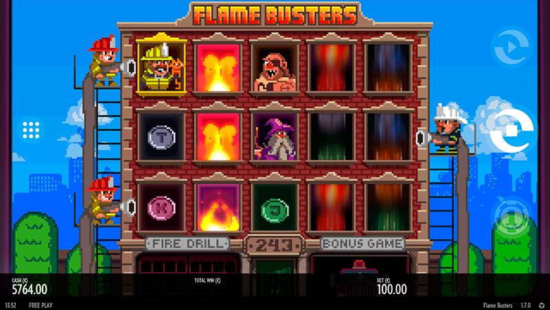 Изображение игрового автомата Roasty McFry and The Flame Busters 1