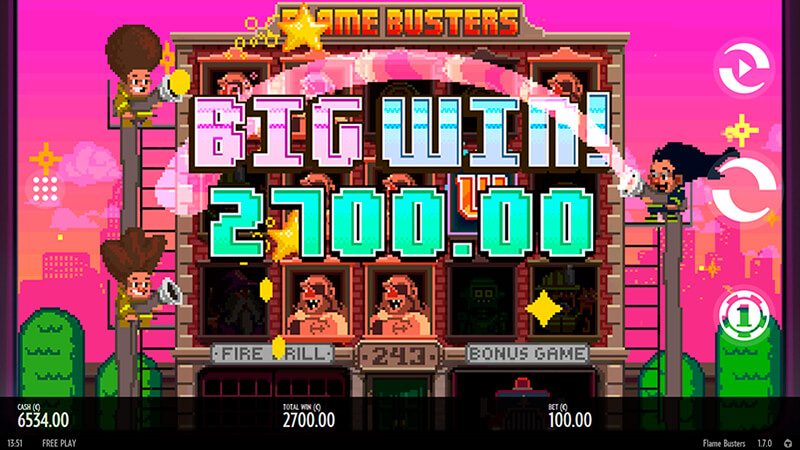Изображение игрового автомата Roasty McFry and The Flame Busters 2