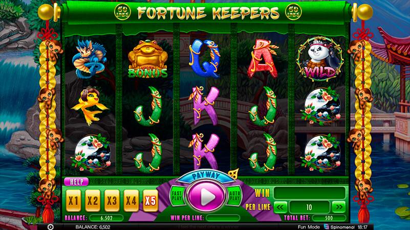 Изображение игрового автомата Fortune Keepers 1