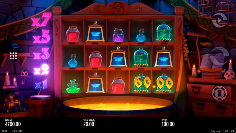 Изображение игрового автомата Frog Grog 1