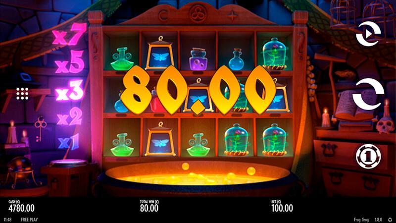 Изображение игрового автомата Frog Grog 2