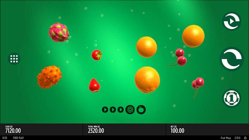 Изображение игрового автомата Fruit Warp 1