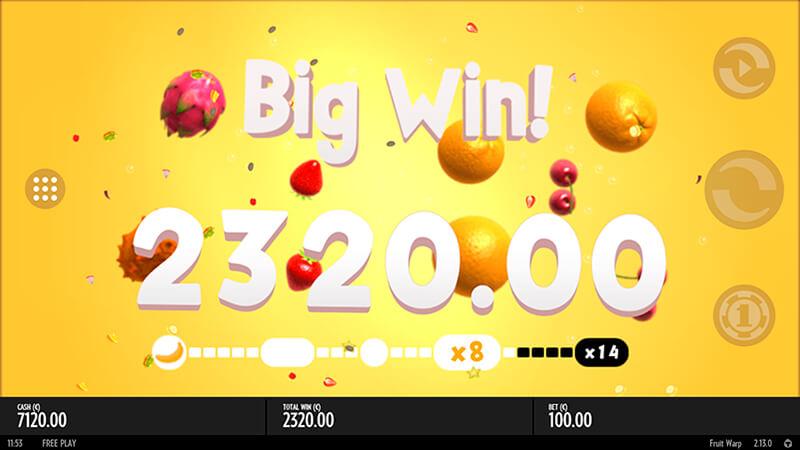 Изображение игрового автомата Fruit Warp 2