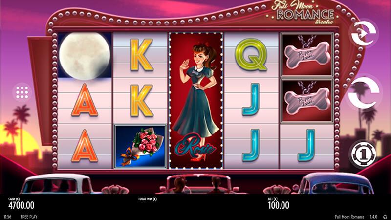 Изображение игрового автомата Full Moon Romance 1