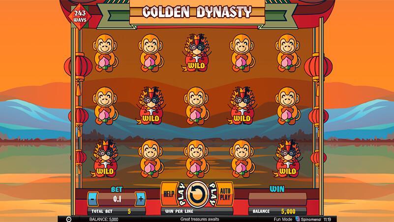 Изображение игрового автомата Golden Dynasty 1