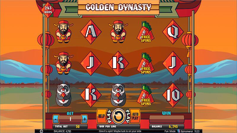 Изображение игрового автомата Golden Dynasty 2
