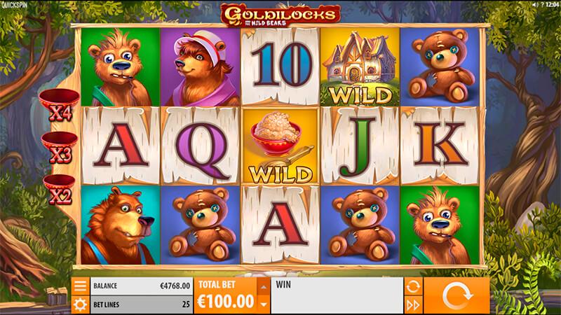Изображение игрового автомата Goldilocks 1