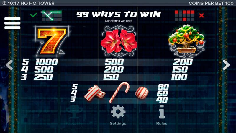 Изображение игрового автомата Ho Ho Tower 5