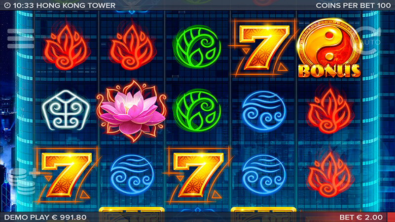 Изображение игрового автомата Hongkong Tower 2