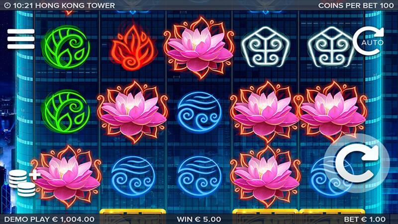 Изображение игрового автомата Hongkong Tower 1