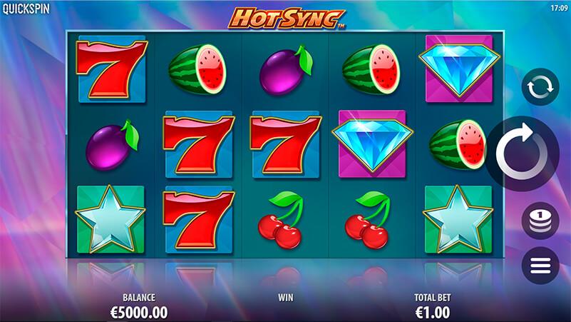 Изображение игрового автомата Hot Sync 1