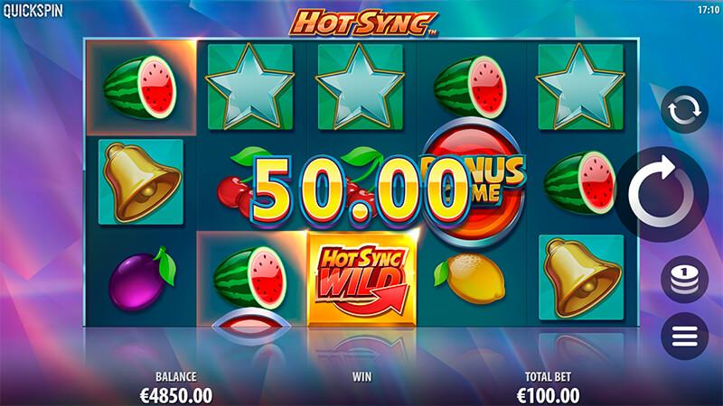 Изображение игрового автомата Hot Sync 2