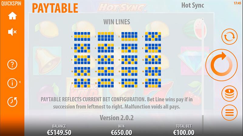 Изображение игрового автомата Hot Sync 3