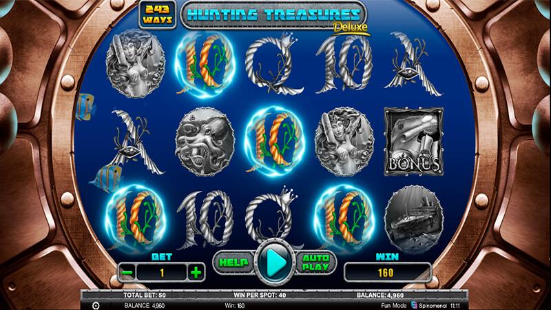 Изображение игрового автомата Hunting Treasures Deluxe 2