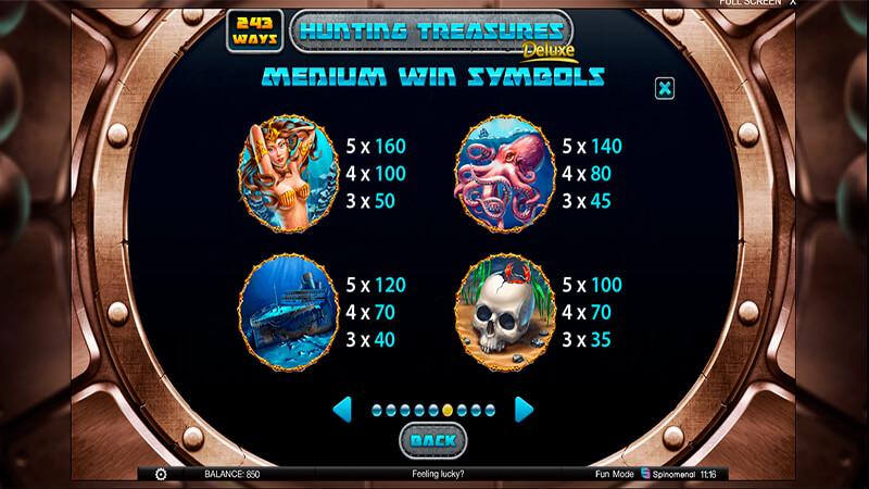 Изображение игрового автомата Hunting Treasures Deluxe 3