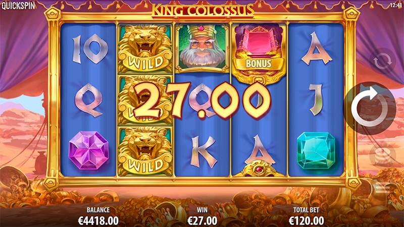Изображение игрового автомата King Colossus 2