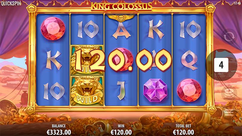 Изображение игрового автомата King Colossus 3
