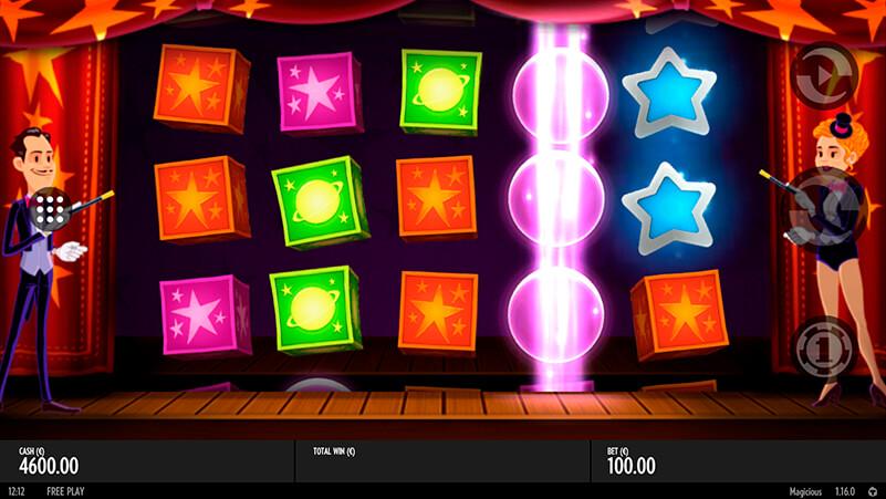 Изображение игрового автомата Magicious 1