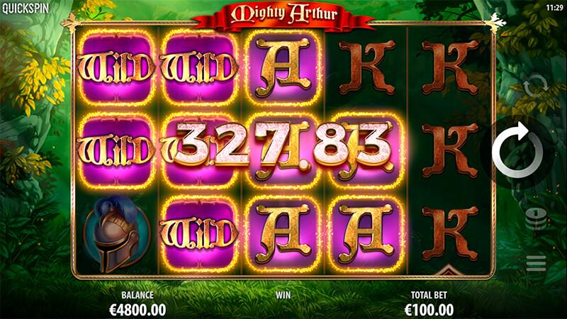 Изображение игрового автомата Mighty Arthur 3