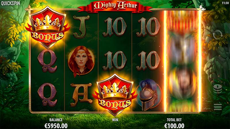 Изображение игрового автомата Mighty Arthur 2