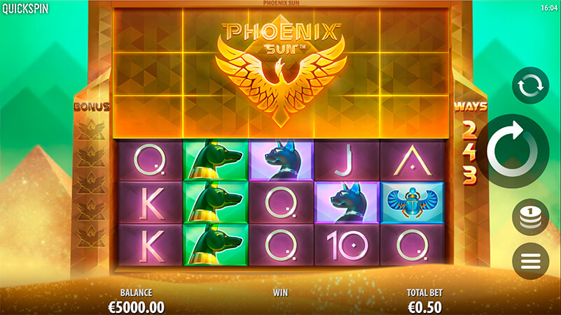 Изображение игрового автомата Phoenix Sun 1
