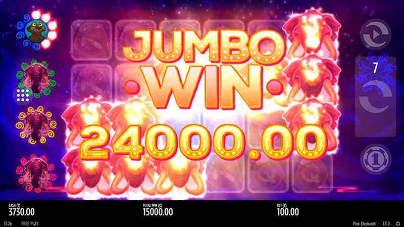 Изображение игрового автомата Pink Elephants 2
