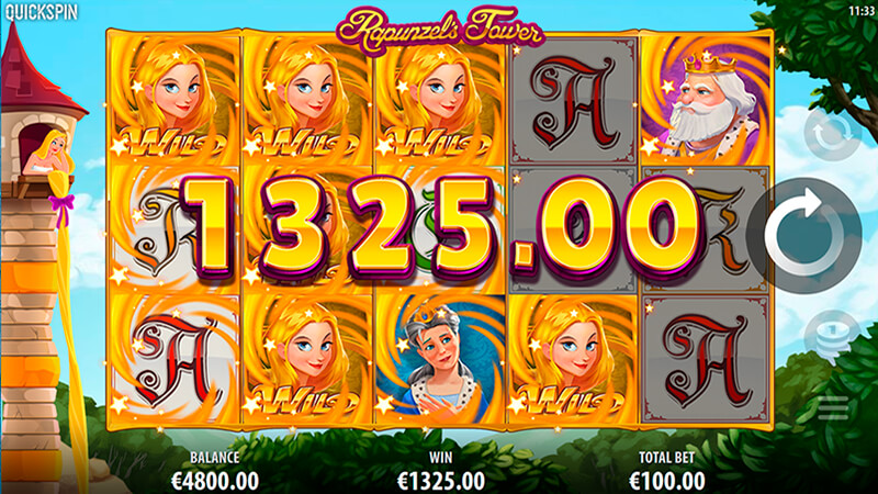 Изображение игрового автомата Rapunzel's Tower 2