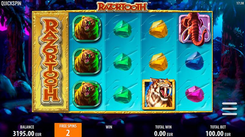Изображение игрового автомата Razortooth 1