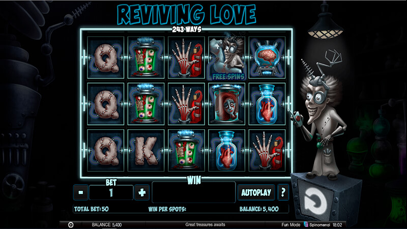 Изображение игрового автомата Reviving Love 1