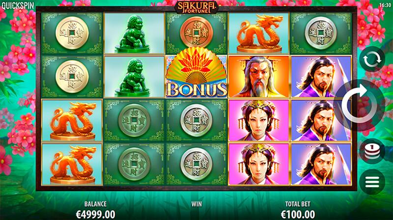 Изображение игрового автомата Sakura Fortune 2