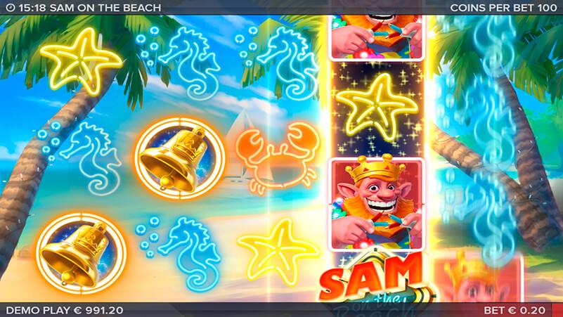 Изображение игрового автомата Sam on the Beach 1