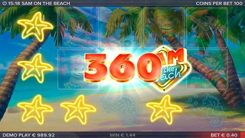 Изображение игрового автомата Sam on the Beach 3