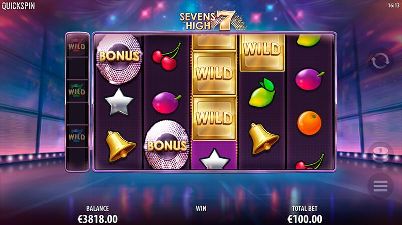 Изображение игрового автомата Sevens High 1