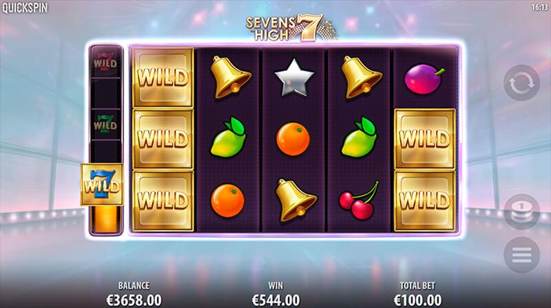 Изображение игрового автомата Sevens High 2