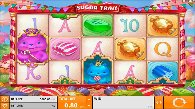 Изображение игрового автомата Sugar Trail 1