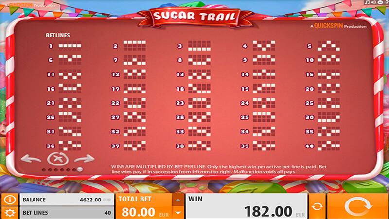 Изображение игрового автомата Sugar Trail 3