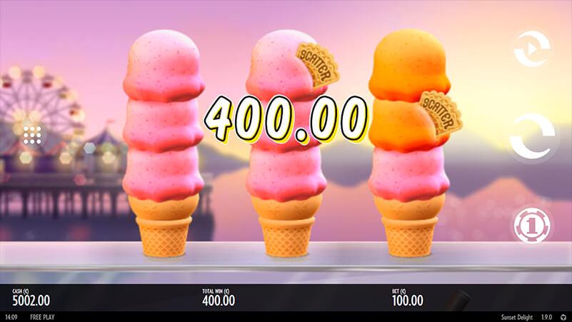 Изображение игрового автомата Sunset Delight 1